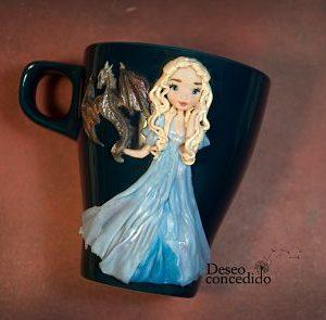 Taza Daenerys Dragón