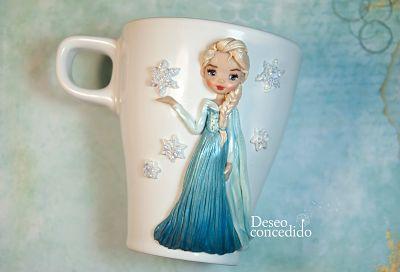 taza Elsa Frozen