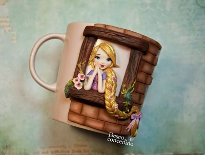 Taza Rapunzel